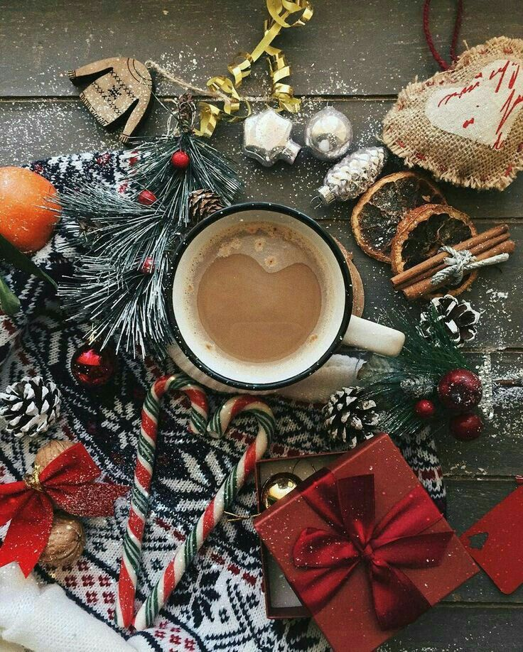 Картинка рождественское утро