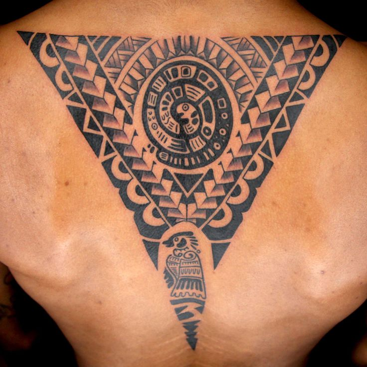 Spine Tattoo by Aaron Is