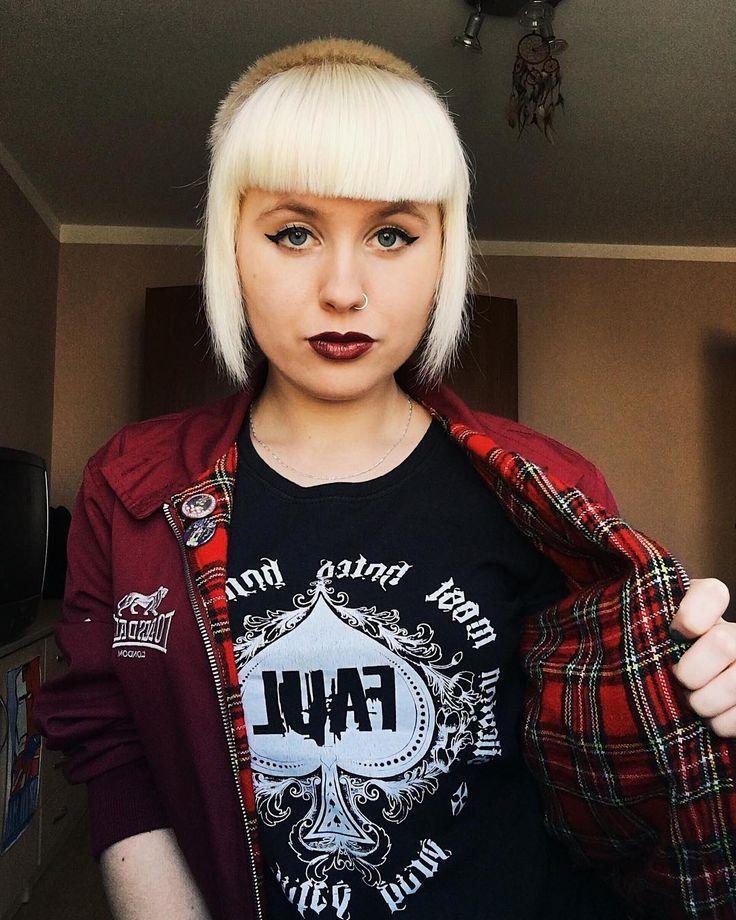 "120 Likes, 1 Comments - Nicole Kruger (@mikolajka_) on Instagram: "" #skinhead #harrington #lonsdale #chelseacut #skingirl #skinbyrd #skinheadgirl #selfie…"""