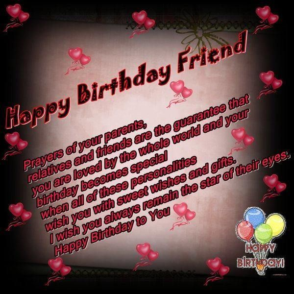 52 Best Images About Birthday Wishes For Friend On