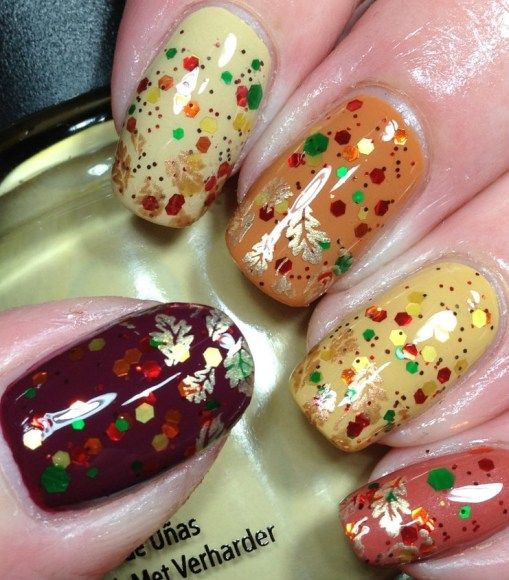 10 Adorable Fall Manicures | Lovelyish