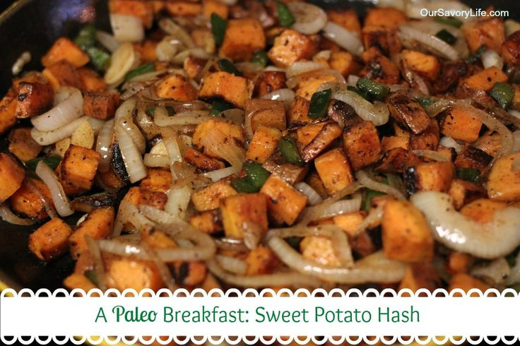 This incredibly simple and delicious sweet potato hash will become your go-to for brunches! Must try this weekend!