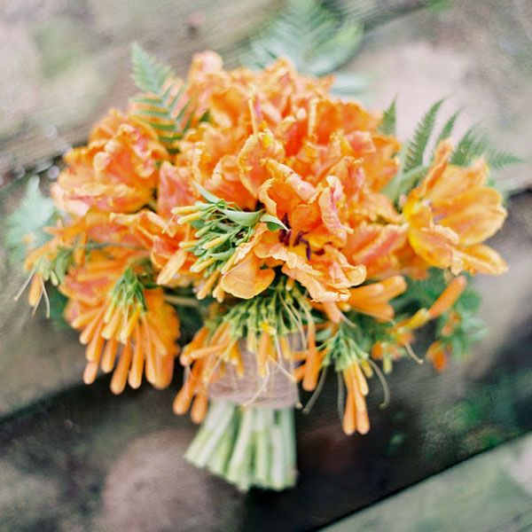 The 25 best orange wedding bouquets ideas on pinterest orange 50 ideas for an orange wedding color palette junglespirit Gallery