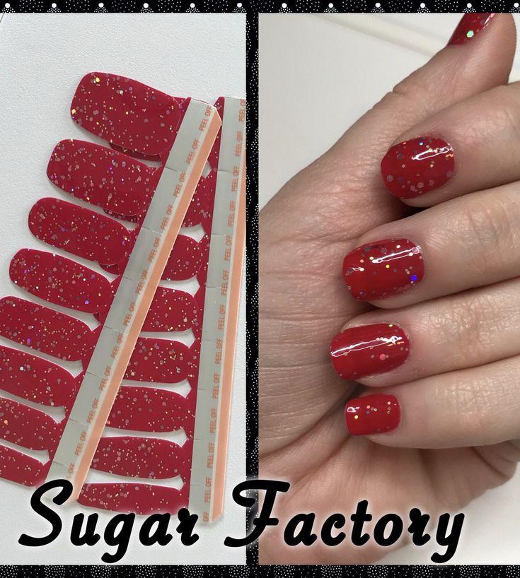 "How Long Does Nail Polish Remover Last: ""Sugar Factory"" Color Street Nail Strips"