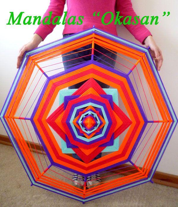 Mandala de 1 metro . Para llenar de energía y magnetismo nuestro hogar , jardín o lugar de trabajo. A la venta ♥  VENDIDO tiendadeoriente.okasan@gmail.com