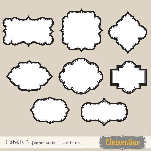 24 best labels images on Pinterest School stuff, Dishwasher and - labels template free