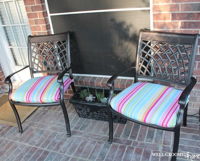 Best 25+ Patio cushion covers ideas on Pinterest | Outdoor cushion ...