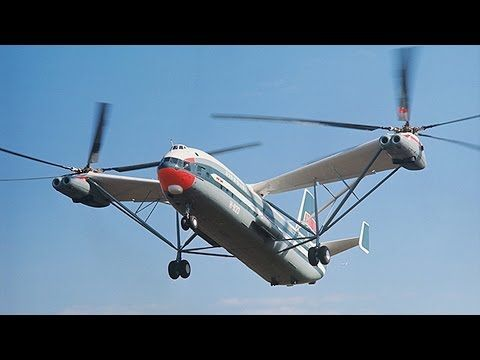 WORLDS LARGEST HELICOPTER Russian Mil V 12 Mi 12 bigger than us army Boeing CH 47 Chinook - YouTube