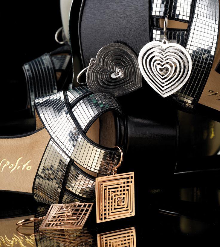 Esselle2000 Orecchini in argento  Silver earrings  esselle.2000@alice.it