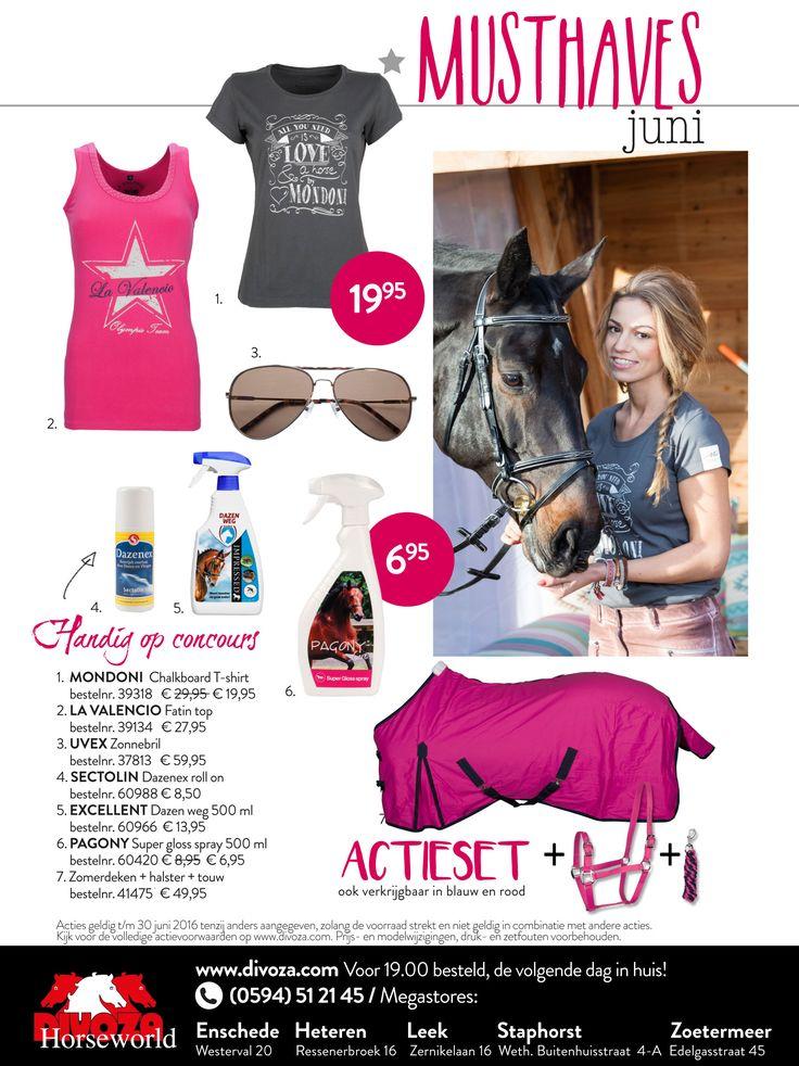 Nieuwe musthaves bij Divoza Horseworld voor de maand juni! Pretty in Pink met de actieset: zomerdeken en halster en touw voor 49,95. #musthaves #musthave #divoza #divozahorseworld #ruitersport #ruiter #equestrian #rider #equestriansport #horse #paard #mode #fashion #pink #roze #shoppen #lavalencio #sectolin #uvex #mondoni #pagony