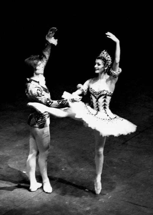 Carla Fracci and Rudolf Nureyev in The Nutcracker, Teatro alla Scala 1970