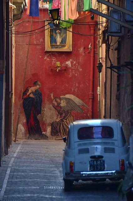 Napoli, province of Naples, Campania region Italy .