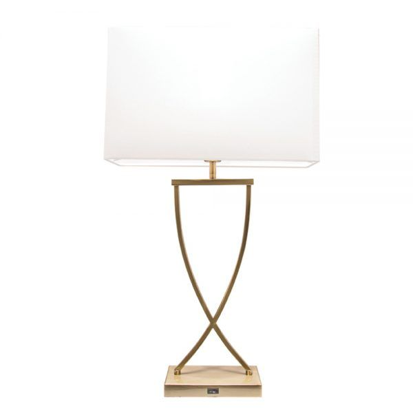Aristo 1l Table Lamp With Usb Charger Suncom Lighting Table Lamp Lamp Table