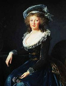 Maria Theresa of Naples and Sicily (1772 - 1807). Holy Roman Empress from 1792 until the Empire was dissolved in 1806. She then became Empress of Austria until her death in 1807. She was married to Francis I.
