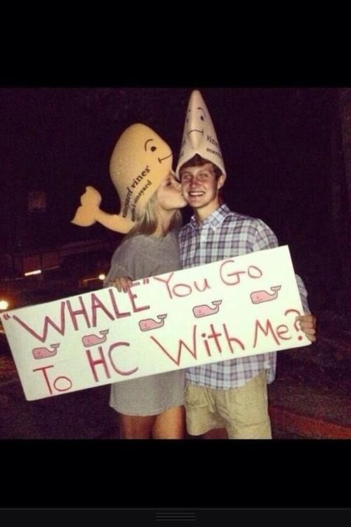 This is so cute, especially if it was to prom