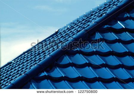 Pattern Of Blue Roof Tiles Roofing Pinterest Roof