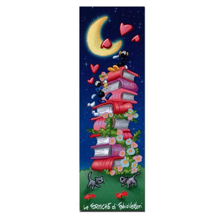 Segnalibro in carta FV01-01 | Le Formiche di Fabio Vettori #segnalibro #book #libro #formiche #gift #leggere #amore #gatti #love #serenata #cats