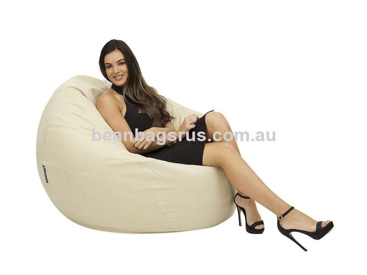 Cocoon Micro Suede Bean Bags from Bean Bags R Us. Available in Sand, Caramel, Light Grey & Dark Grey!
