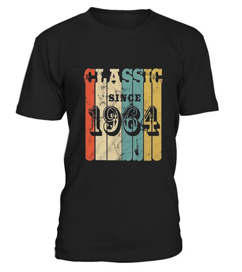 "# Classic Retro 1964 Birthday Tshirt .  100% Printed in the U.S.A - Ship Worldwide*HOW TO ORDER?1. Select style and color2. Click ""Buy it Now""3. Select size and quantity4. Enter shipping and billing information5. Done! Simple as that!!!Tag: funny, gift, father's day, years of being awesome, trending, top selling, born in 1964, made in 1964, legends are born in 1964 shirt, men and women, horoscope t shirt, zodiac t shirt, gift, funny t shirt"