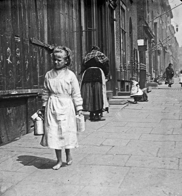 """""""To Have and Have Not"""".. 1900, Scotland Road, Liverpool."""