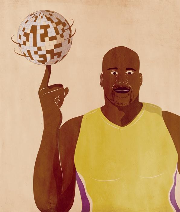 Se ti dico Dance Like Shaquille O'Neal, cosa mi disegni?  Giordano Poloni: http://www.dlso.it/site/2012/12/19/passaporto-giordano-poloni/