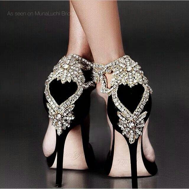 Bling rhinestone holiday heels  c345f91f32d3