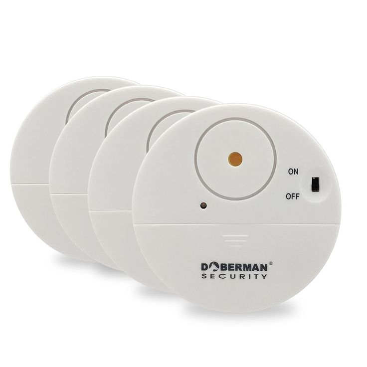 Doberman Security Ultra-Slim Design Security Window Alarm SE-0106W- 4 Pack New  #DobermanSecurity