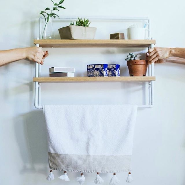 The Blanc Garden Shelf.
