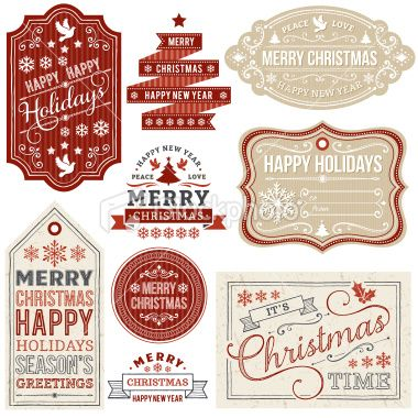 Christmas labels to print.....