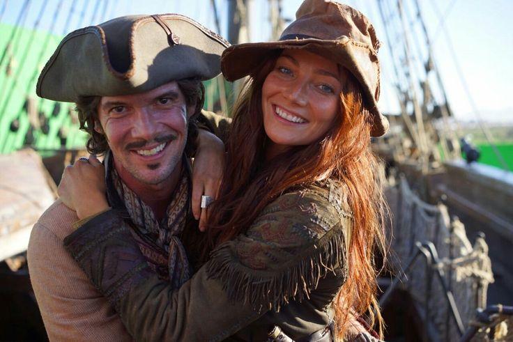 Black Sails. Anne Bonny and Jack Rackham. Ranger Crew