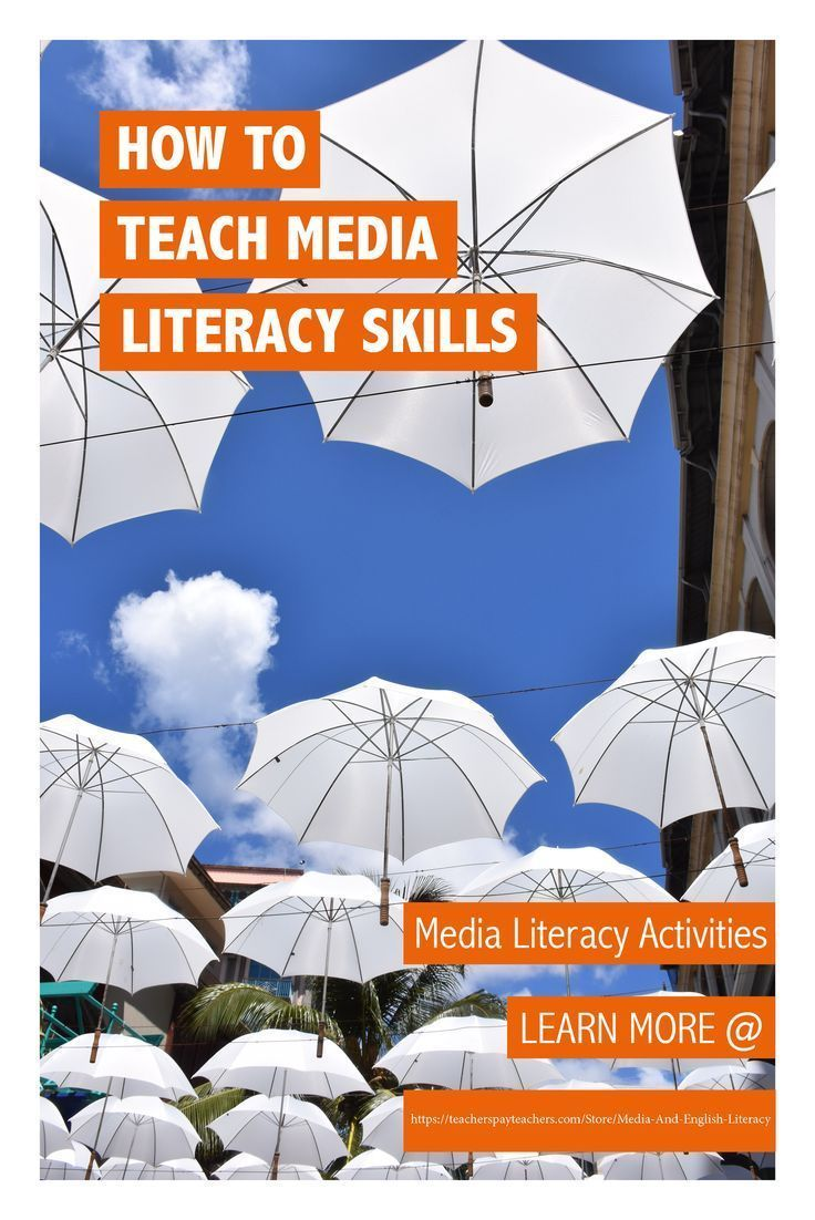 Find structured media literacy activities to teach critical viewing skills to primary and high school students. Great educational resources for teaching Media Studies, English, Media Arts and English Language Arts. LEARN MORE: https://www.teacherspayteachers.com/Store/Media-And-English-Literacy