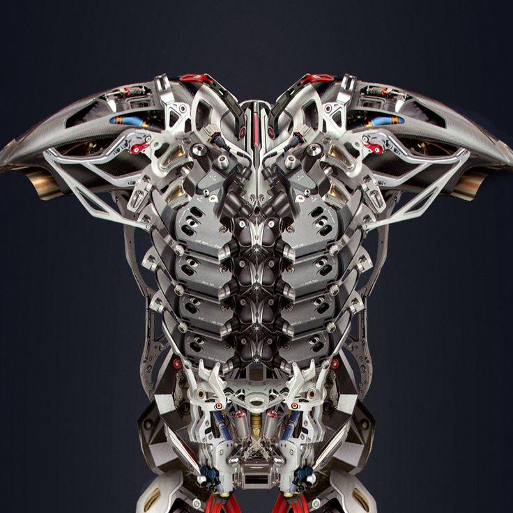 ArtStation - Armor Exyle, Cristiano Rinaldi