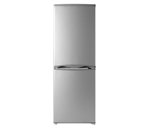 Buy ESSENTIALS C50BS14 Fridge Freezer - Silver | Free Delivery | Currys - 159gbp
