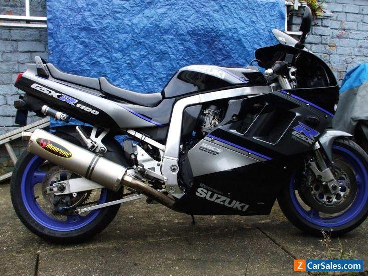 suzuki Gsxr 1100 m fitted with full titanium akropovic exhaust system #suzuki #gsxr1100m #forsale #unitedkingdom