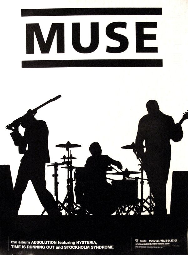 Muse - Amazing in concert! I saw them in 2010 and I wish one more time and more...