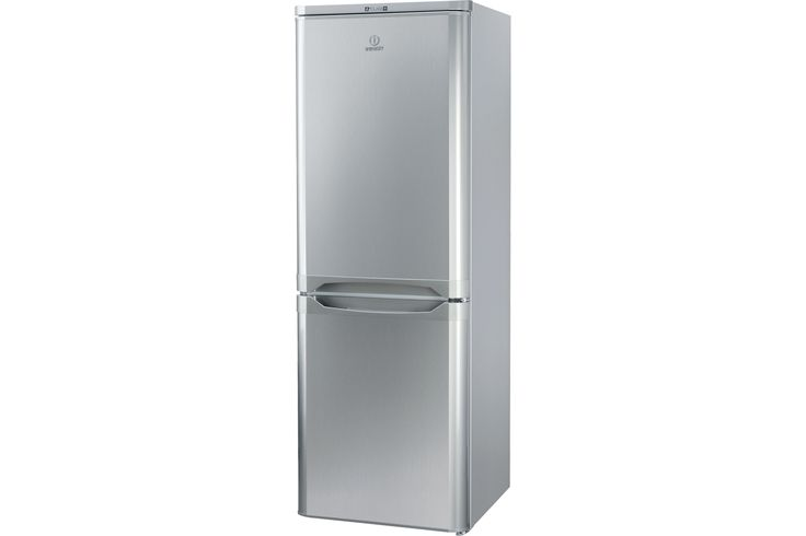 Indesit Fridge Freezer Silver NCAA55S from Harvey Norman