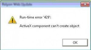 Runtime Error in Windows 8 is normal and often appears as an error code 429. It is a well known error and like the previous version of windows now it is common in Windows 8.