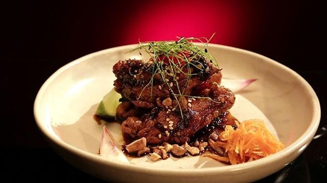 Chicken Ribs with Chilli and Sweet Soy