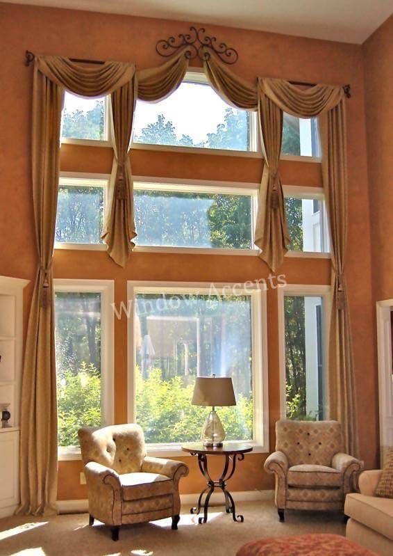 230 best images about 2 story window treatments on for 2 story window treatments