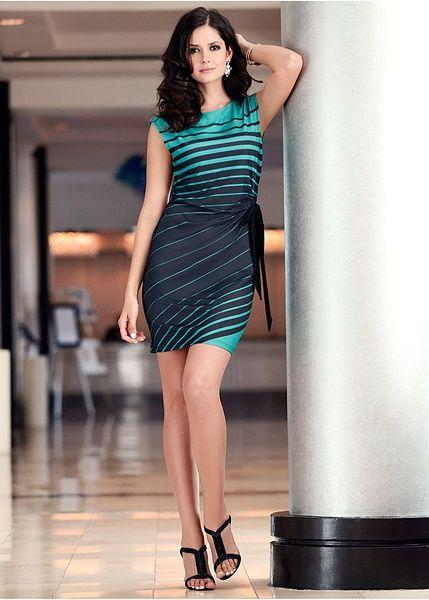 Šaty Klasické šaty s moderným • 24.99 € • Bon prix
