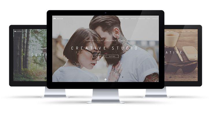 Rhythm — One & Multi Page Creative Theme