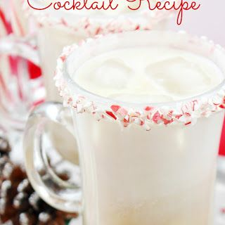 Peppermint White Russian Cocktail