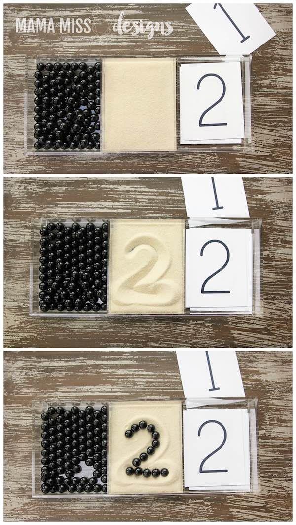 Aprender los números con el método Montessori                              …