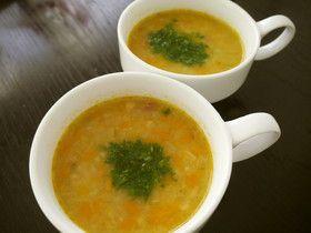 ほっこり、ポテトスープ