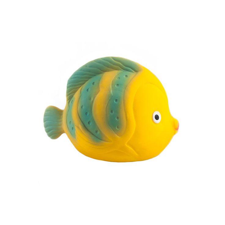 MORDEDOR JUGUETE BAÑO  FISH  BUTERFLY CAAOCHO BABY