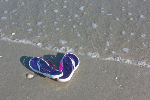 Sandals on the Beach   5 x 7 Print and gifts by KaEPhotography on Etsy