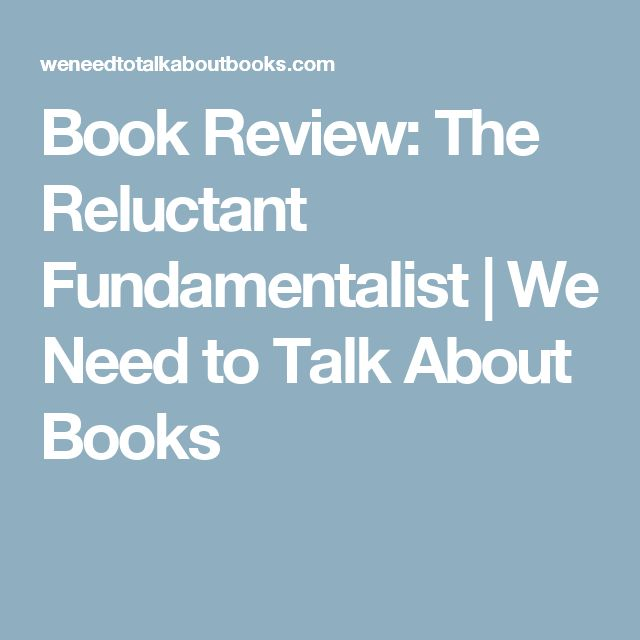 book review reluctant fundamentalist