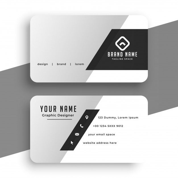 Download Elegant Business Card Design In Geometric Shape For Free Business Cards Creative Templates Vector Business Card Business Card Template