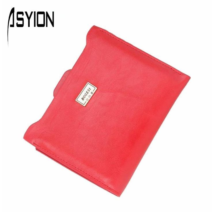 ASYION 2016 New Brand Fashion Zipper PU Leather Coin Card Holder Photo Holder Purse Wallet Female Purse Wallets For Women DB5700 #shoes, #jewelry, #women, #men, #hats