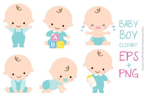 Baby Boy Set Vector And Png Baby Boy Sets Creative Project Baby